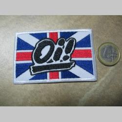 British Oi! nažehľovacia nášivka vyšívaná (možnosť nažehliť alebo našiť na odev)