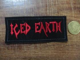 Iced Earth vyšívaná nášivka posledný kus!!