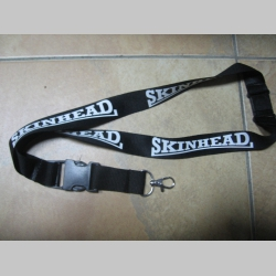Skinhead textilná šnúrka na krk ( kľúče ) materiál 100% polyester