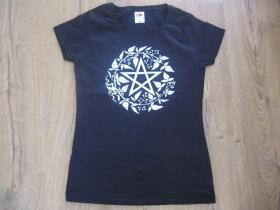 Pentagram - Bafomet  dámske tričko materiál 100%bavlna značka Fruit of The Loom