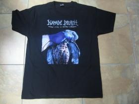 Napalm Death čierne pánske tričko materiál 100% bavlna