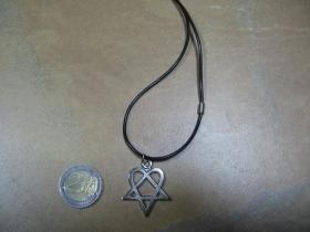 Hertagram, kovový prívesok