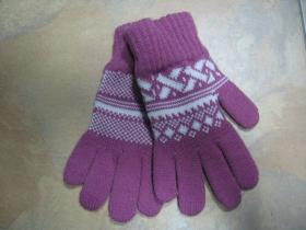 dámske rukavice pletené 100%akryl