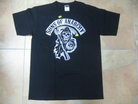 Sons of Anarchy čierne pánske tričko 100%bavlna