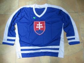 Slovakia - Slovensko modrý hokejový dres s obojstranným logom 100%polyester