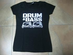 Drum and Bass  dámske tričko Fruit of The Loom 100%bavlna