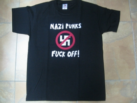 Dead Kennedys - Nazi Punks Fuck Off!  pánske tričko 100 %bavlna Fruit of The Loom