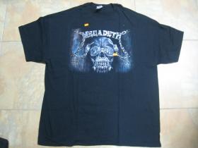 Megadeth čierne pánske tričko 100%bavlna