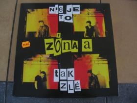 Zóna A  Nieje to tak zlé    LP platňa legendárnej slovenskej punkovej kapely hrajúcej už od roku 1984