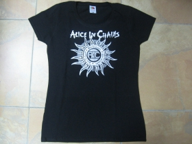 Alice in Chains  čierne dámske tričko 100%bavlna
