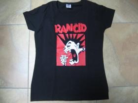 Rancid  čierne dámske tričko 100%bavlna