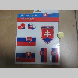 Slovensko / Slovakia, fanúšikovské tetovačky, cena za celú sadu