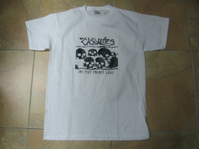Casualties - On The Front Line biele pánske tričko 100%bavlna