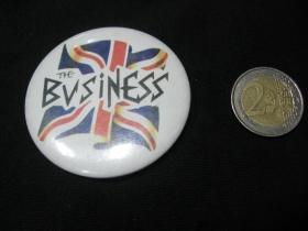 Business  odznak veľký, priemer 55mm