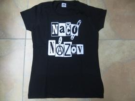 Načo Názov Old school Logo   dámske tričko Fruit of The Loom 100%bavlna