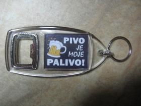 Pivo je moje palivo  otvarák / kľúčenka