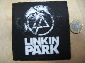 Linkin Park ofsetová nášivka po krajoch obšívaná cca. 9x9cm