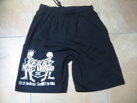 Načo Názov Old School Punkrock čierne teplákové kraťasy 100%bavlna  značka Fruit of The Loom