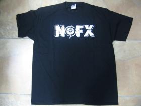 NOFX čierne  pánske tričko 100 %bavlna
