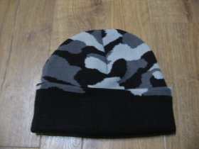 """zimná čiapka maskáčová ! METRO """" materiál 100% akryl  univerzálna veľkosť"""