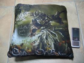 Children of Bodom, vankúšik cca.30x30cm 100%polyester
