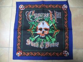 Cypress Hill, Šatka 100%bavlna, cca.52x52cm