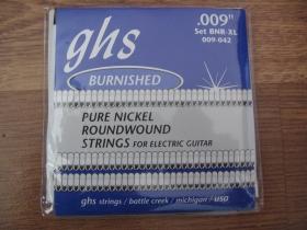 GHS Struny na elektrickú gitaru BNR-XL 009-042