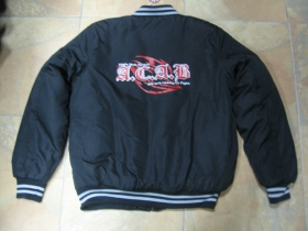 A.C.A.B. We are ready to fight  100%Mob Action  čierna pánska zimná bunda materiál 100%polyester