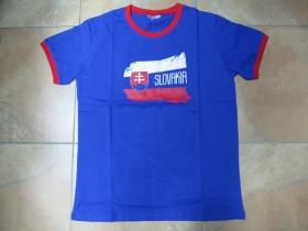 Slovakia - Slovensko do toho! , hrubé pánske tričko s obojstrannou potlačou 100%bavlna