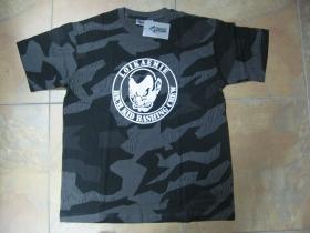 Loikaemie  nočný maskáč-Nightcamo SPLINTER, pánske tričko 100%bavlna