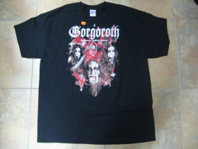Gorgoroth  čierne pánske tričko 100%bavlna Gildan