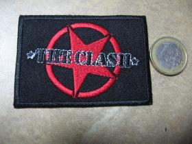 The Clash nažehľovacia nášivka vyšívaná (možnosť nažehliť alebo našiť na odev)
