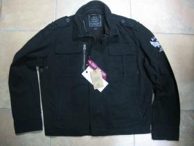 Alpha Industries pánska hrubá bunda jar/jeseň farba čierna