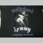 Motorhead Lemmy čierne dámske tričko 100%bavlna