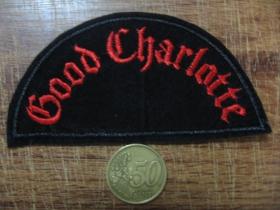 Good Charlotte vyšívaná nášivka - posledný kus!!!