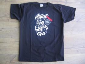 Ramones čierne pánske tričko 100%bavlna