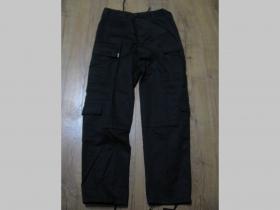 """Nohavice BDU """" kapsáče """" 65%bavlna 35%polyester farba čierna"""