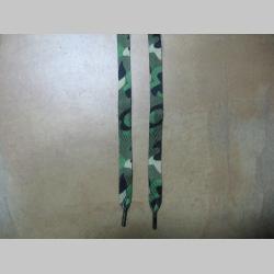 """Aiwalk šnúrky """"klasický maskáč""""  110cm"""