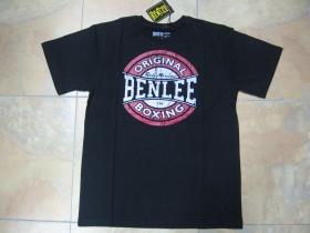 Ben Lee čierne tričko BOXING LOGO s tlačeným logom 60%bavlna 40 % Polyester