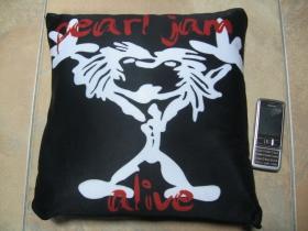 Pearl Jam, vankúšik cca.30x30cm 100%polyester
