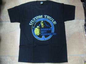 Ultima Thule čierne pánske tričko 100%bavlna