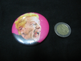 Sex Pistols - Johny Rotten odznak veľký, priemer 55mm