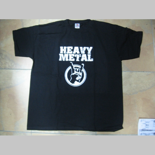 bf185c928417 Heavy Metal pánske tričko 100 %bavlna Fruit of The Loom