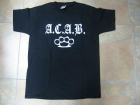 A.C.A.B. Boxer,  pánske tričko 100%bavlna Fruit of The Loom