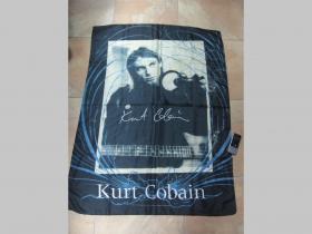 Kurt Cobain Nirvana vlajka cca. 110x75cm