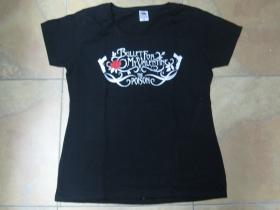 Bullet for My Valentine čierne dámske tričko 100%bavlna