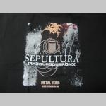 Sepultura čierne pánske tričko materiál 100%bavlna