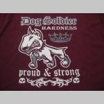 Dog Soldier mikina s kapucou stiahnutelnou šnúrkami a klokankovým vreckom vpredu