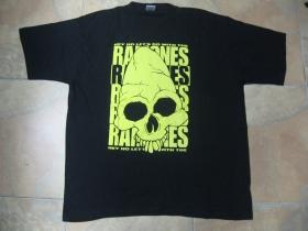 Ramones - Gabba Gabba Hey  čierne pánske tričko 100%bavlna
