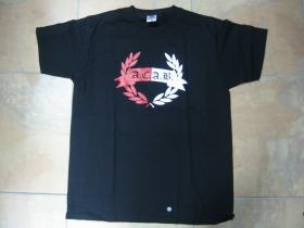 A.C.A.B. čierne pánske tričko 100%bavlna  značka Fruit od The Loom